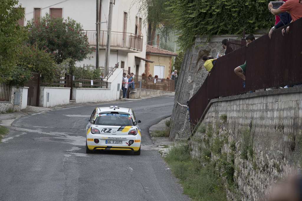 29 HUTTUNEN Jari (FIN) LINNAKETO Antti (FIN) Opel Adam R2 action during the 2017 European Rally Championship ERC Rally di Roma Capitale,  from september 15 to 17 , at Fiuggi, Italia - Photo Gregory Lenormand / DPPI