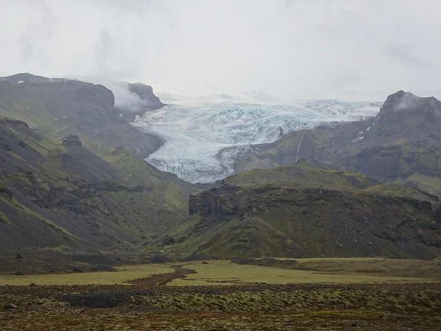 One Edge of Vatnajökull Glacier