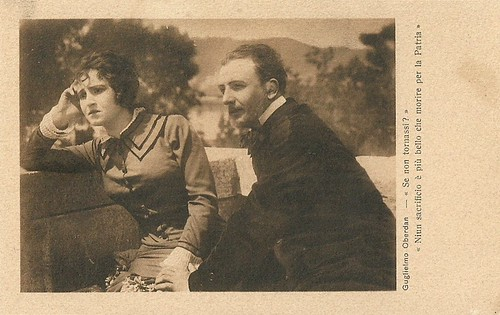 Alberto Collo in Guglielmo Oberdan (1915)