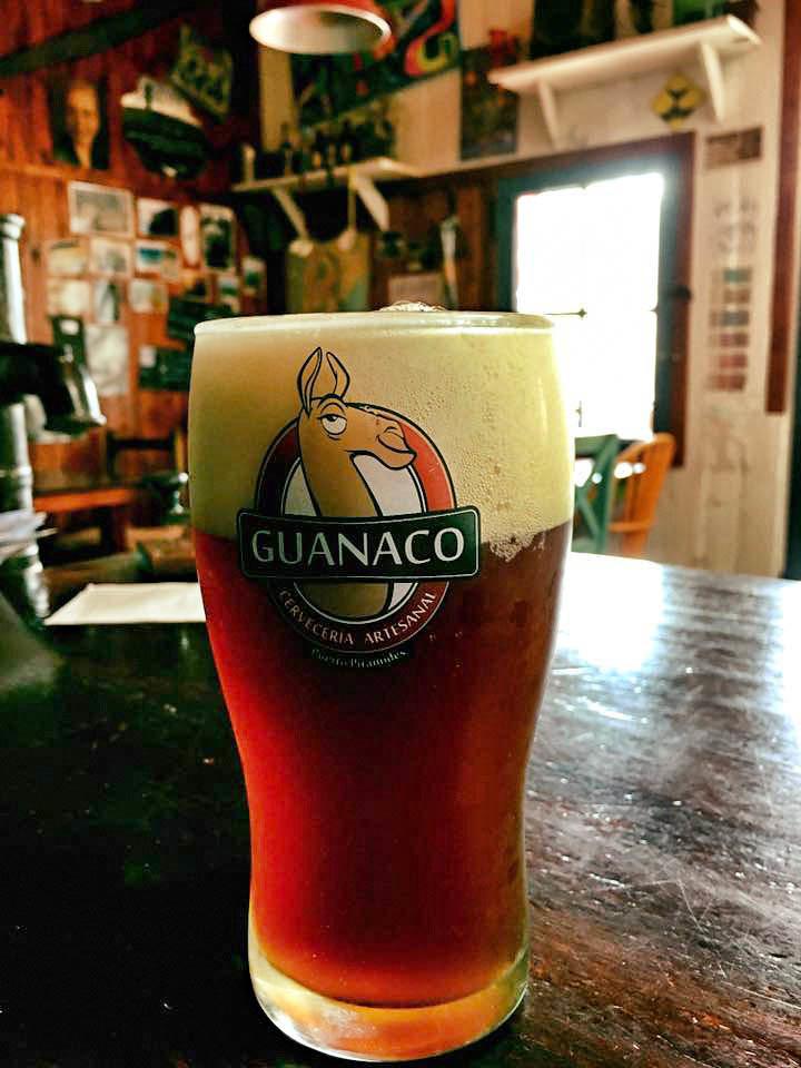 Puerto Piramides - Guanaco - Biere