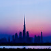 Dubai Skyline in Flickr Colours by Dr Vipin Challiyil