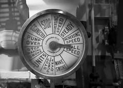 Full Speed: throttle dial, HMS Belfast