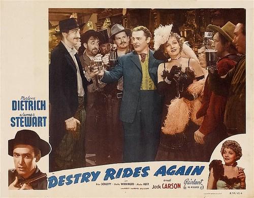 Destry Rides Again - lobbycard 2