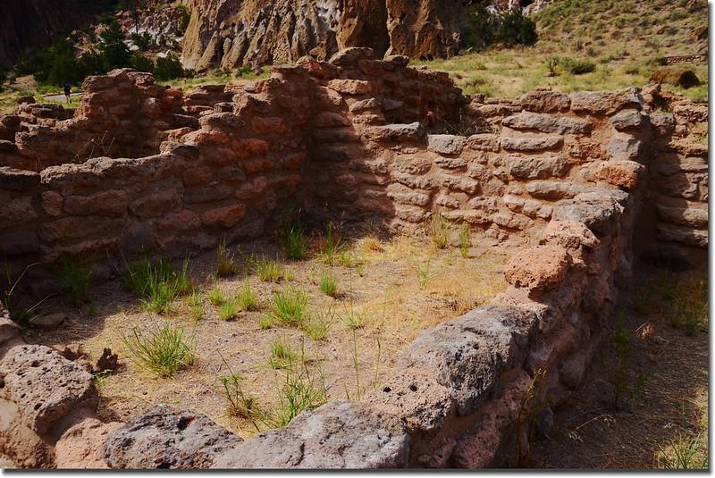 Ruins in Bandelier National Monument 2