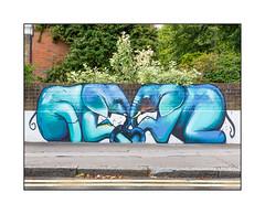 Street Art (Falko 1), South East London, England.