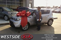 #HappyBirthday to Teri from Marlon Smith at Westside Kia!