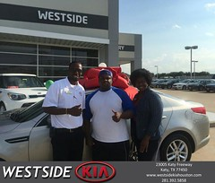 #HappyBirthday to James from Antonio Page at Westside Kia!