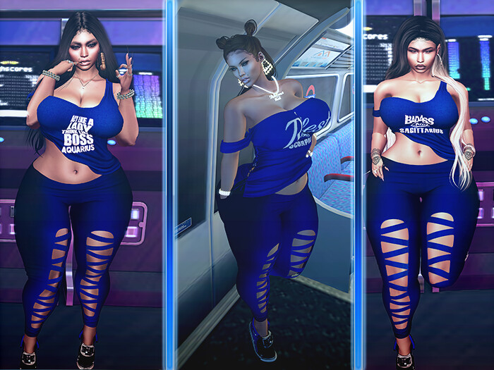 MY Sexiest Zodiac In Blue - SecondLifeHub.com
