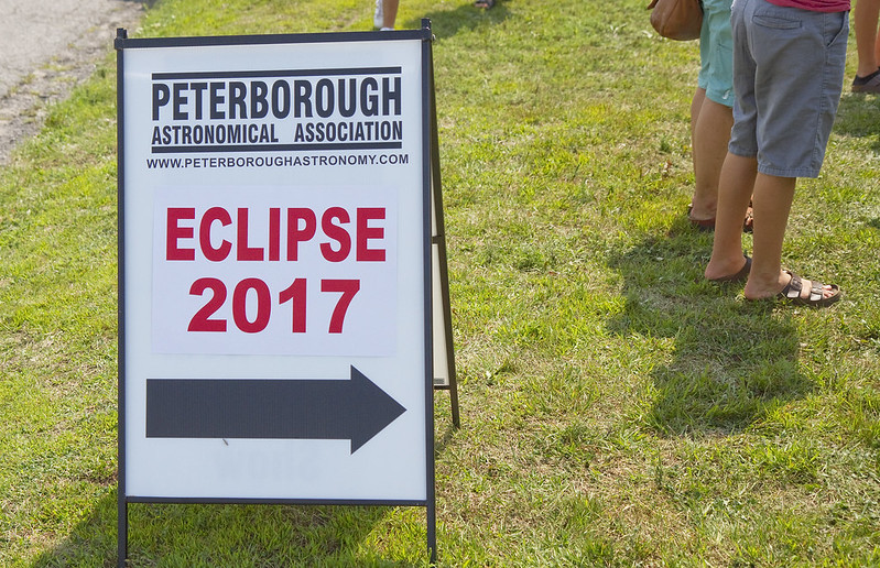 solar eclipse - at Armour Hill