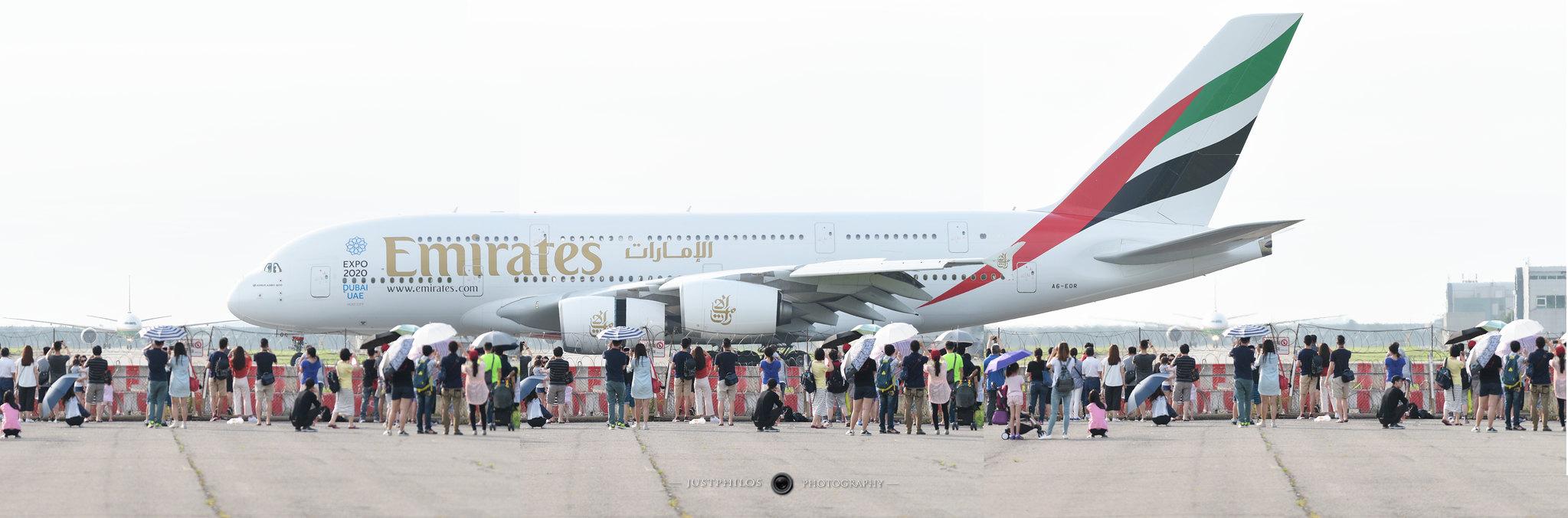 阿聯酋航空A380巨無霸客機