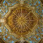 Inside the San Bernardino Church - nomen sacrum