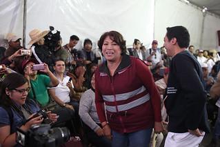 Delfina Gómez llama a impedir ?imposición? de Alfredo del Mazo el martes 8