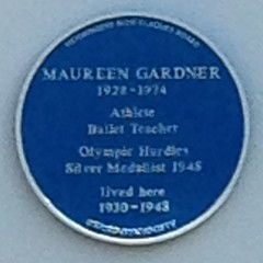 Photo of Maureen Gardner blue plaque