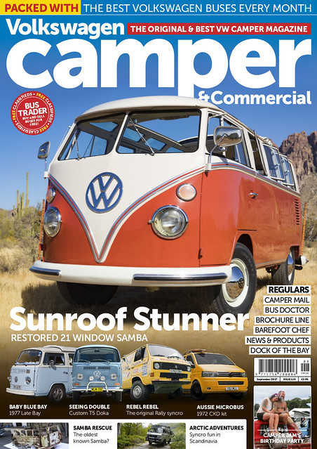 VW Camper & Commercial Issue 119 Cover