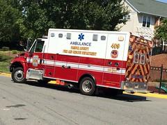 Fairfax County Fire and Rescue. Medic 409 (Mount Vernon, Va)