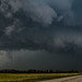 Late summer supercell