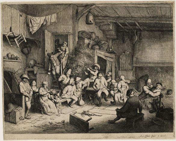 AdriaenVanOstadeDerTanzImWirtshaus1650–1655