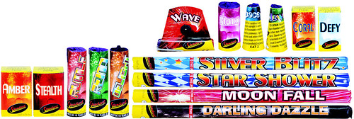 Sunfire Selection Box  Contents by Standard Fireworks
