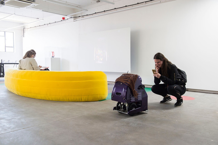 States of Play at Humber Street Gallery, Combover Jo. Photo © Sean Spencer/Hull News.