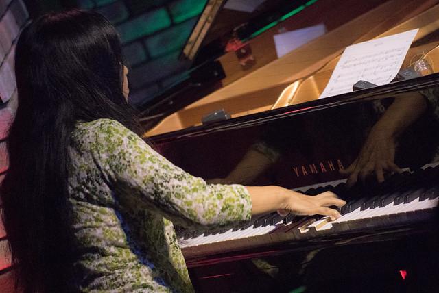 Satoko Fujii Quartet live at Cortez, Mito (Japan), 19 Aug 2017 -7S-00162
