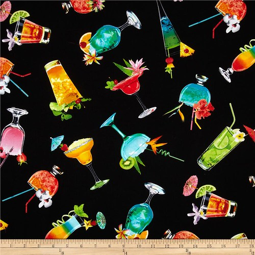 Happy Hour Cottom Fabric