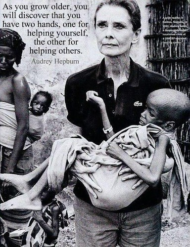 Celebrity Quotes : Words of Wisdom from Audrey Hepburn...
