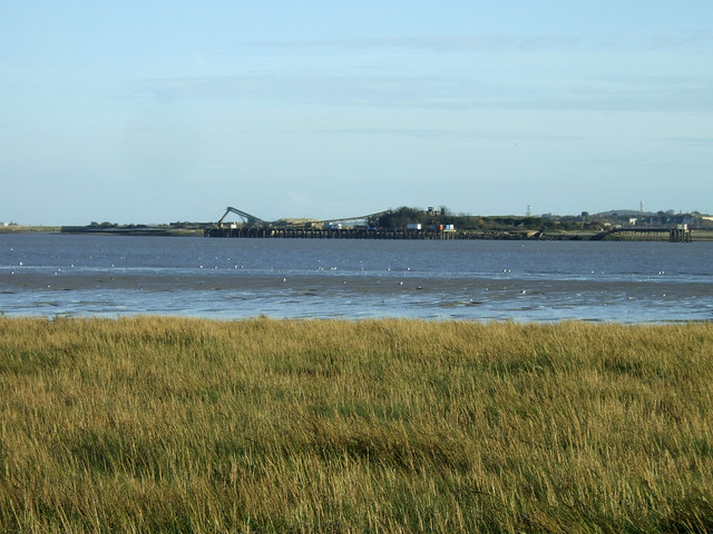 The Thames near East Tilbury