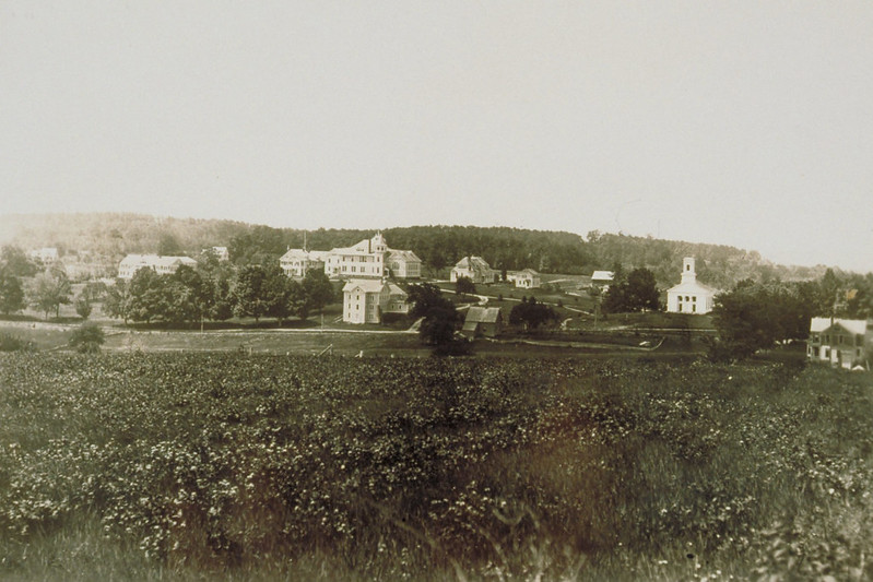 View Of Campus, From Horsebarn Hill, Connecticut Agricultural College