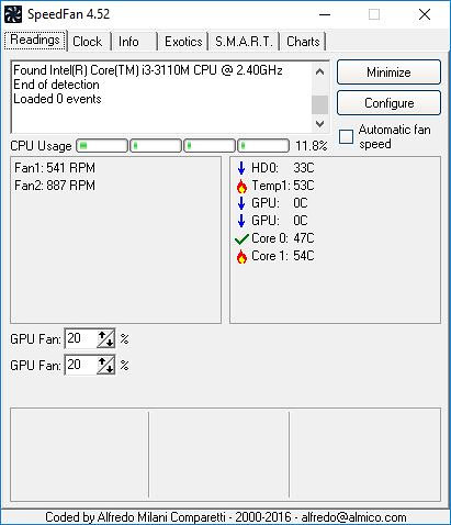 How to configure SpeedFan? - September 2017 - Forums - CNET