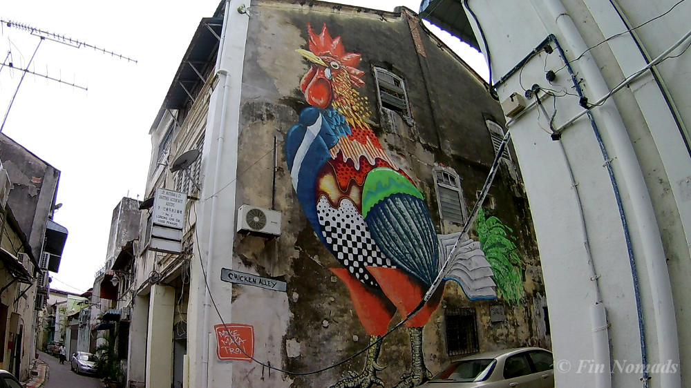 chicken alley Penang