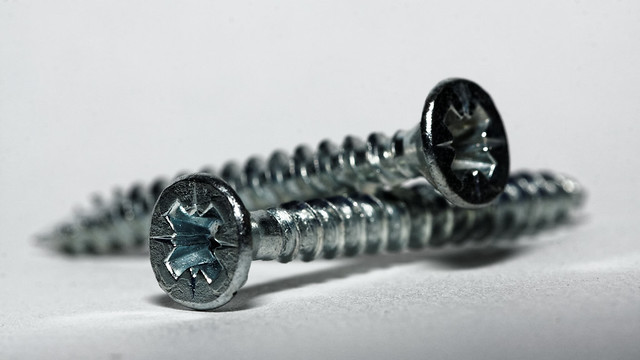 High key screw, Canon EOS 40D, EF100mm f/2.8 Macro USM