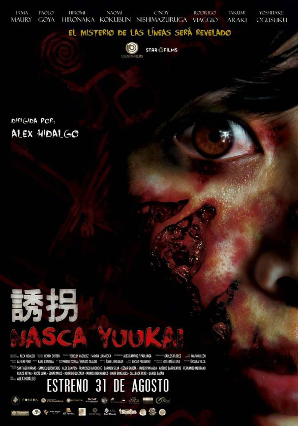 """Elenco de """"Nasca Yuukai"""" sembrará el terror en San Juan de Lurigancho"""