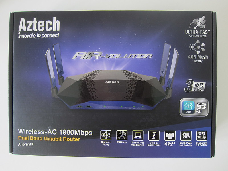 Aztech AIR-706P - Box Front