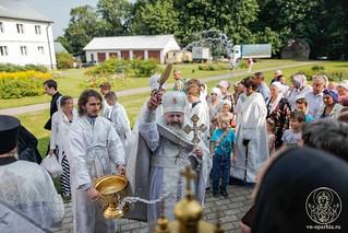 Литургия в Хутынском монастыре 580