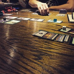 Still playing magic, still getting my ass kicked. One day... Really loving Vigilante as a place to snack and play games though. . . . . #atx #austin #tabletop #vigilante #mtg #magic #magicthegathering #nerd