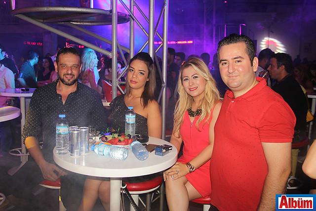 Hasan Ciğerci ve Yakup Gömeç de konseri izleyenler arasındaydı.