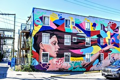 Motel in Vancouver . . #colorful #travelling #Vancouverbc #graffity #nomad