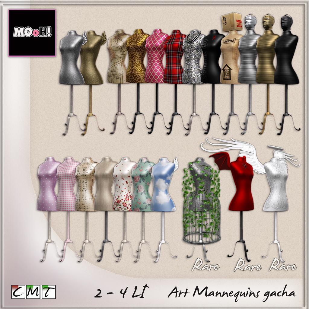 Art mannequins gacha - SecondLifeHub.com