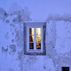 Window in Tavira, Portugal
