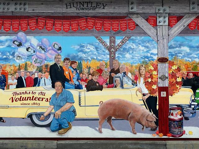 Mural at the Carp Fair Grounds