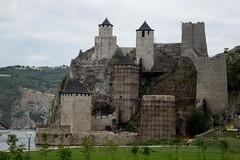 Twierdza nad Dunajem, w Golubac