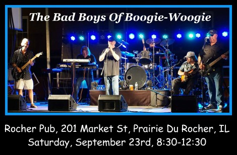 The Bad Boys Of Boogie-Woogie 9-23-17
