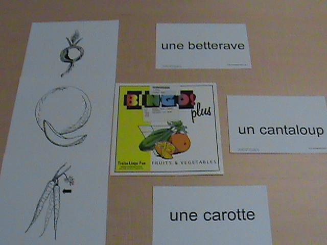 Bingo! plus fruits & vegetables : [French set]