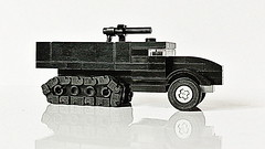 Half-track Military Truck (Updated Version)