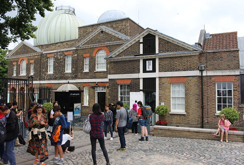 Greenwich Observatory, London, and the Prime Meridian