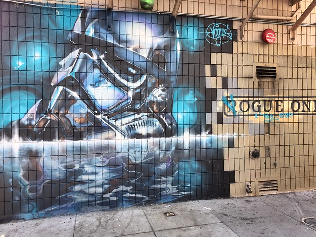 Rogue One Mural