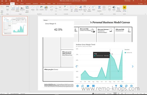 Devscope Power BI Tiles in Microsoft Excel, PowerPoint and SharePoint 4
