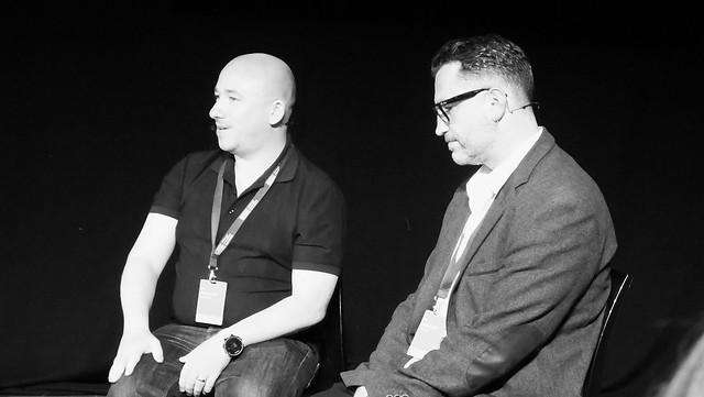 Edinburgh International Book Festival 2017 - David Baillie & Rob Davis 02