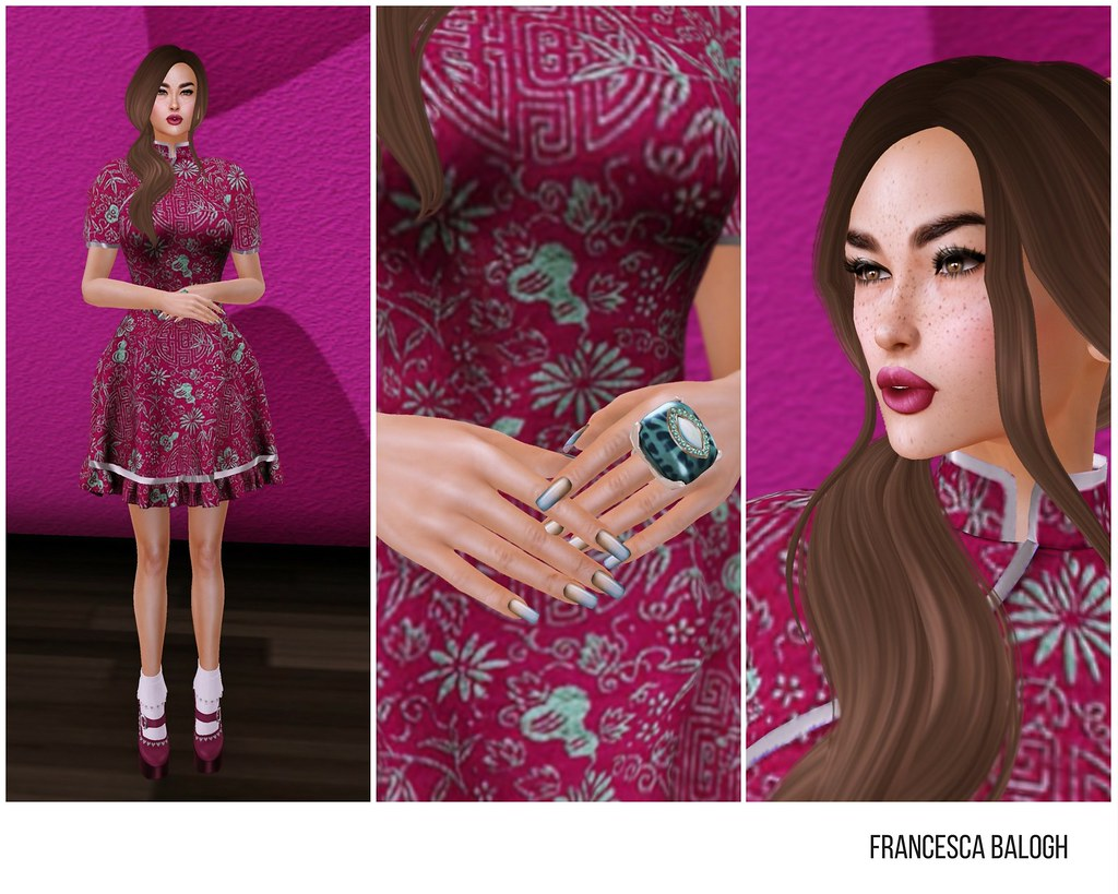 Pink China Doll