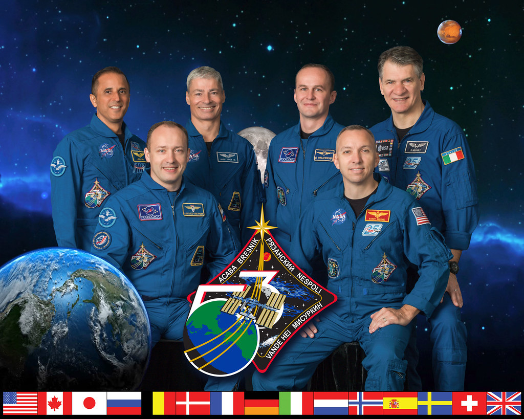 Expedition 53 Crew Portrait